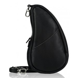 Healthy Back Bag Leather Large Baglett in Black
