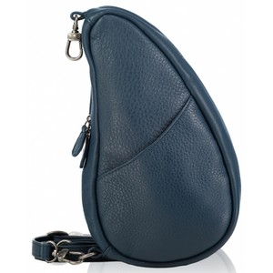 Healthy Back Bag Leather Large Baglett in Lake Blue