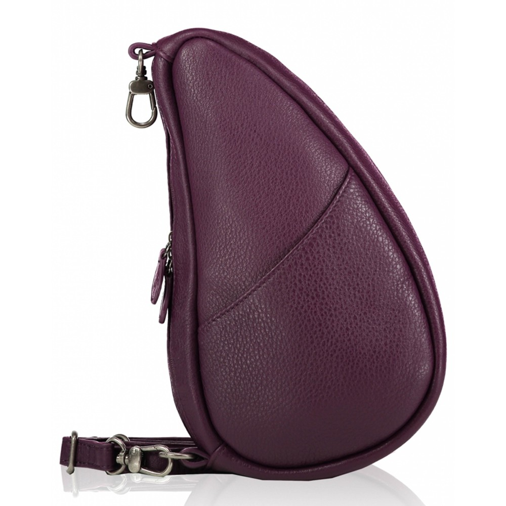 Healthy Back Bag Leather Large Baglett Purple