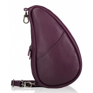 Healthy Back Bag Leather Large Baglett in Purple