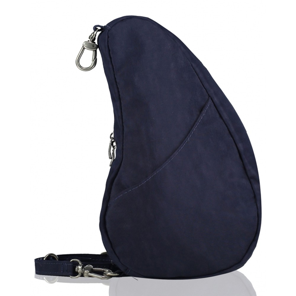 Healthy Back Bag Textured Nylon Large Baglett Blue Night
