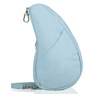 Healthy Back Bag Textured Nylon Large Baglett in Glacier Blue