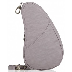 Healthy Back Bag Textured Nylon Large Baglett in Grey Fox