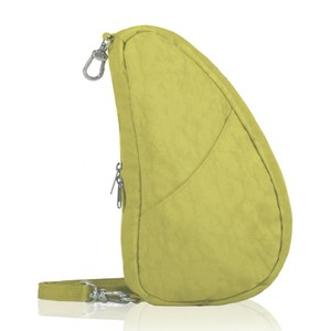 Healthy Back Bag Textured Nylon Large Baglett in Pistachio