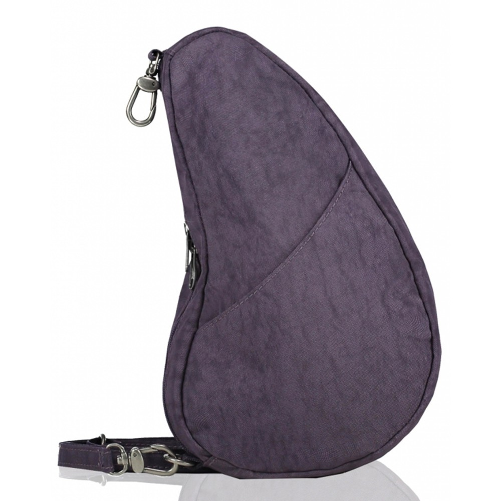 Healthy Back Bag Textured Nylon Large Baglett Plum
