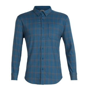 Icebreaker Compass Flannel LS Shirt Mens
