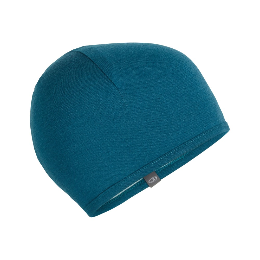 Icebreaker Pocket Hat Kingfisher/Dew/Arctic