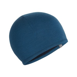 Icebreaker Pocket Hat in Prussian Blue/Midnight Navy