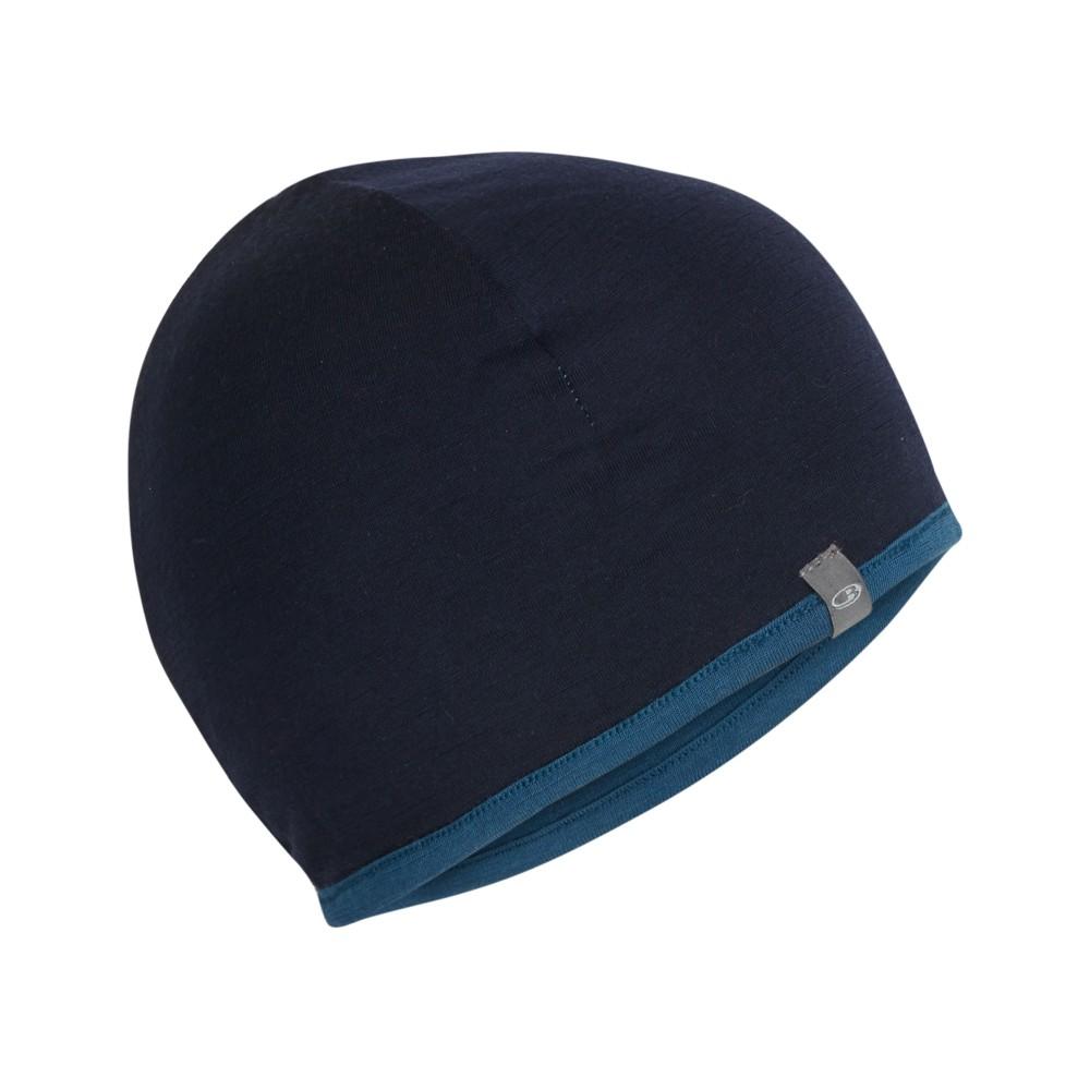 Icebreaker Pocket Hat Prussian Blue/Midnight Navy