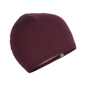 Icebreaker Pocket Hat in Velvet/Opal