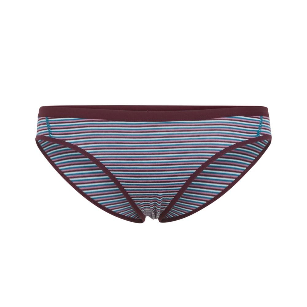 Icebreaker Siren Bikini Womens Velvet/Dew/Stripe