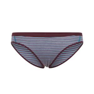 Icebreaker Siren Bikini Womens in Velvet/Dew/Stripe
