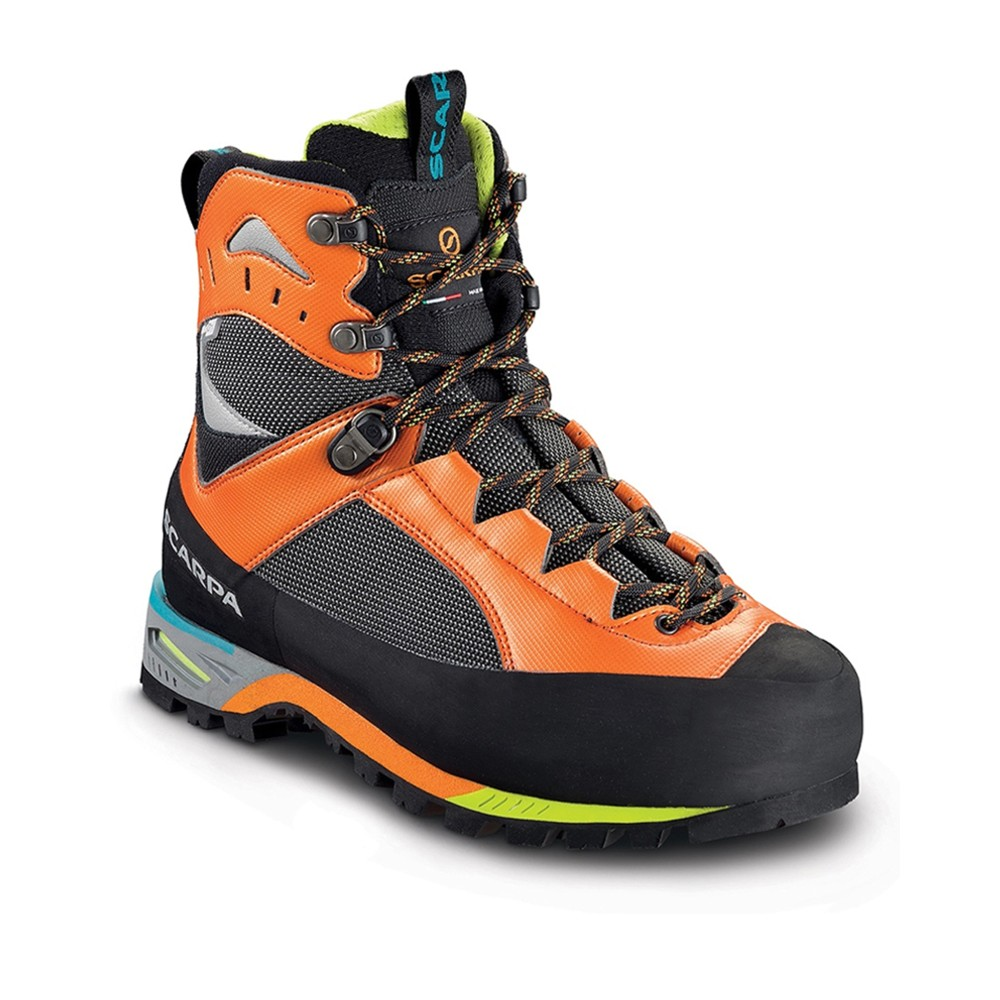 Scarpa Charmoz Mens Shark/Orange