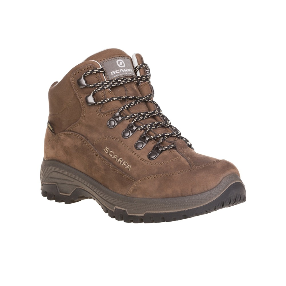 Scarpa Cyrus Mid GTX Womens Brown