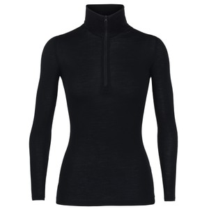 Icebreaker Everyday 175 LS Half Zip Womens in Black