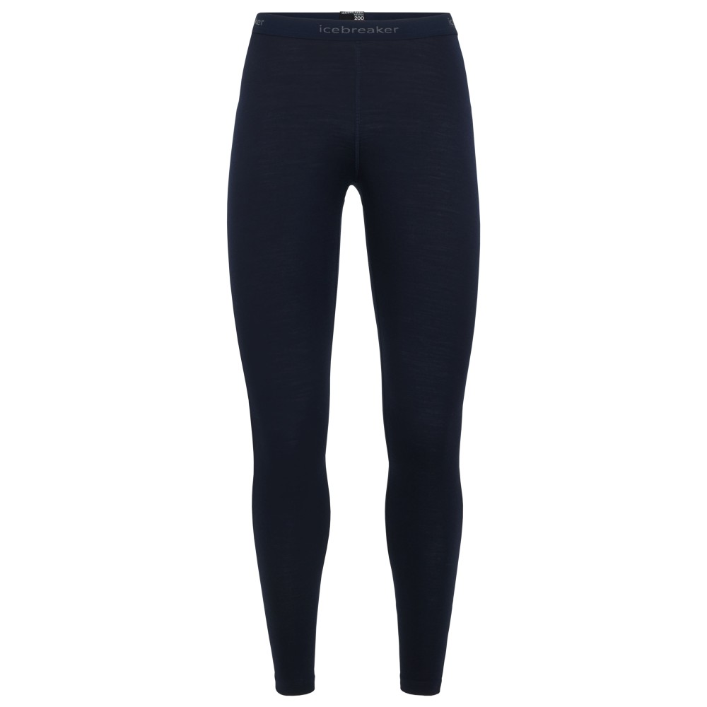 Icebreaker Oasis 200 Leggings Womens Black