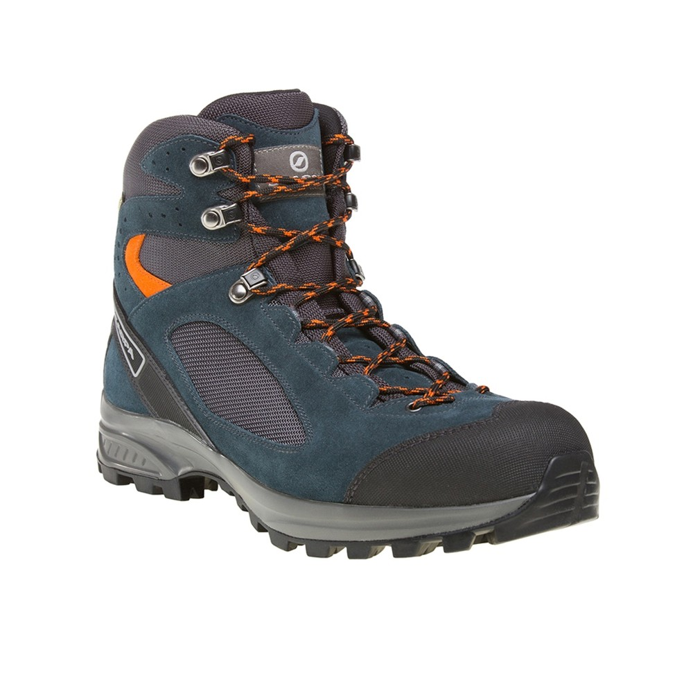 Scarpa Peak GTX Mens Lake Blue-Tonic