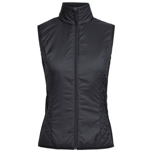 Icebreaker Helix Vest Womens in Black