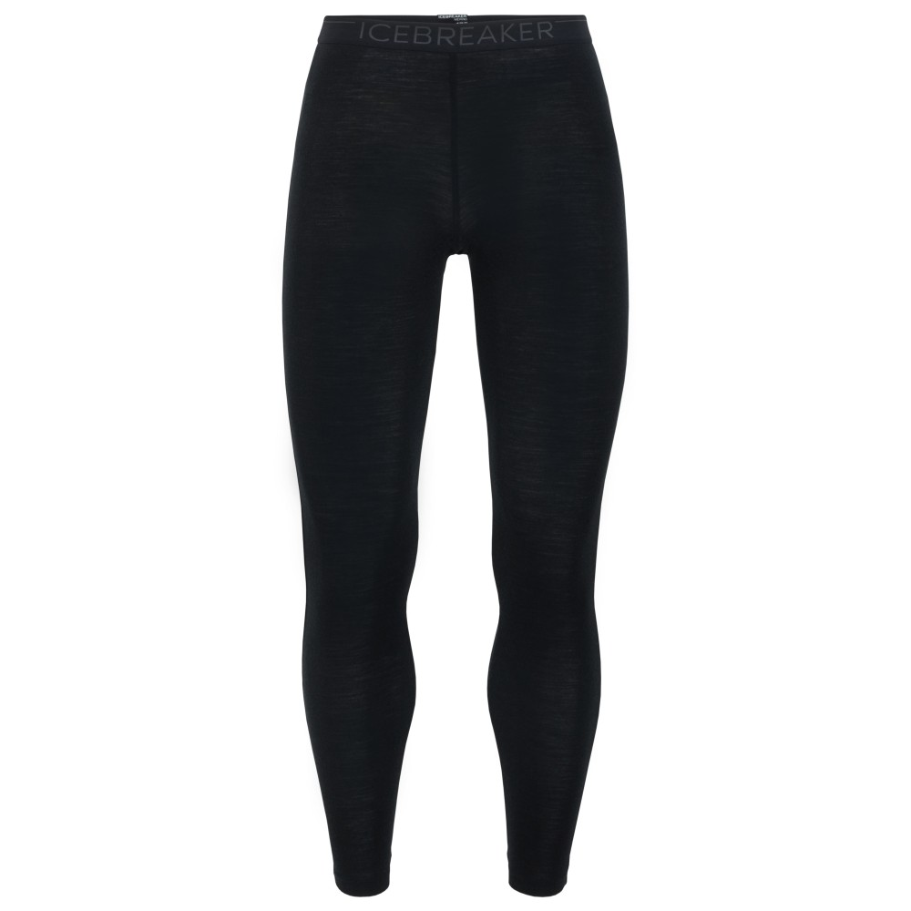 Icebreaker Everyday 175 Leggings Mens Black/Monsoon