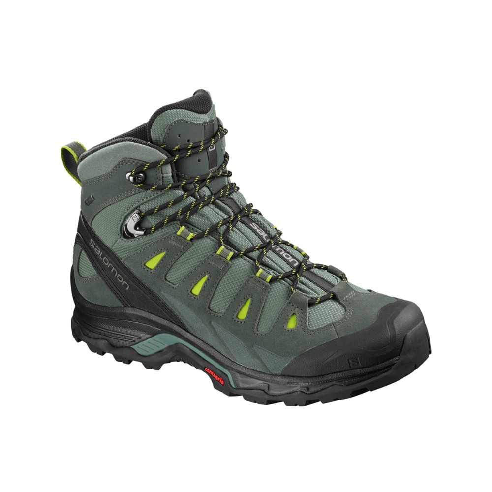 Salomon Quest Prime GTX Mens Balsam Gr/Urban Chic/Lime Gree