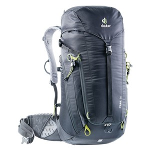 Deuter Trail 30 in Black-Graphite