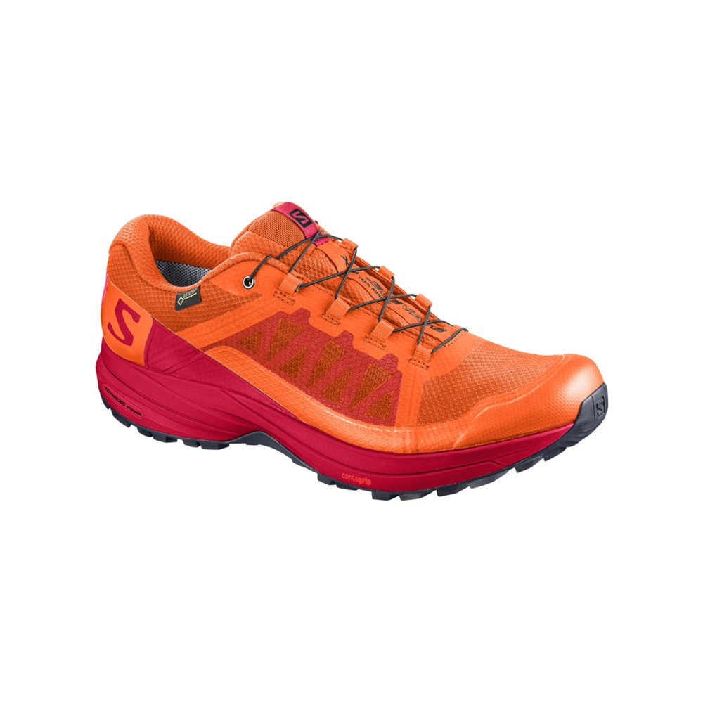 Salomon XA Elevate GTX Mens Scarlet Ibis/Barbados Cherry/B