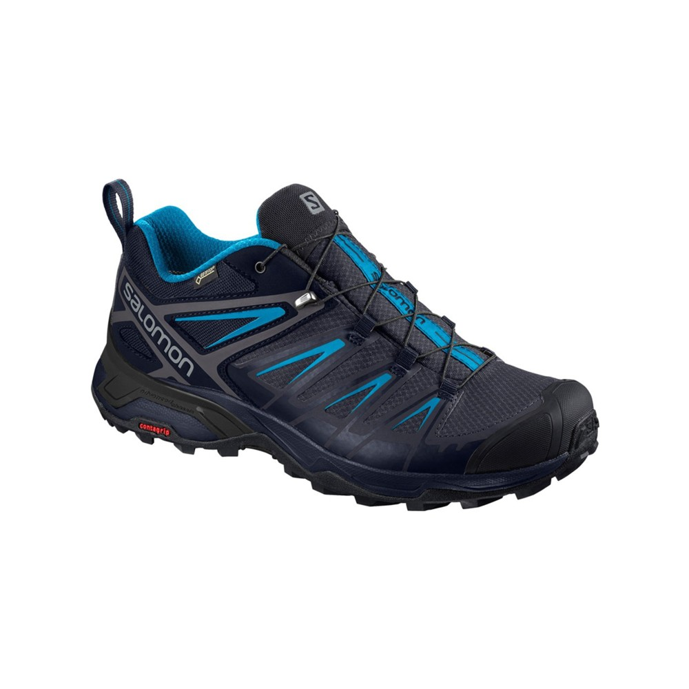 Salomon X Ultra 3 GTX Mens Gy/Night Sky/Hawaii