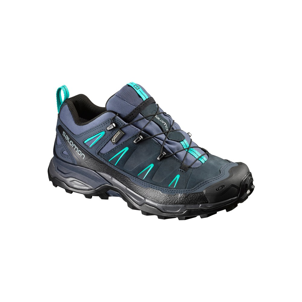Salomon X Ultra LTR GTX Womens Slate Blue/Deep Blue/Spa Blue