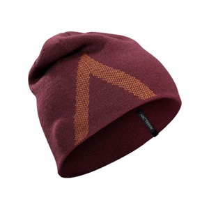 Arcteryx  Crest Toque in Crimson/Rhassoul