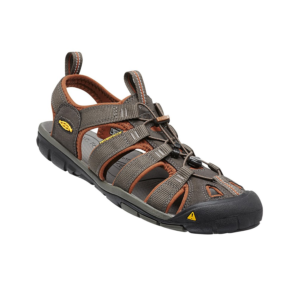 Keen Clearwater CNX Mens Raven/Tortoise Shell