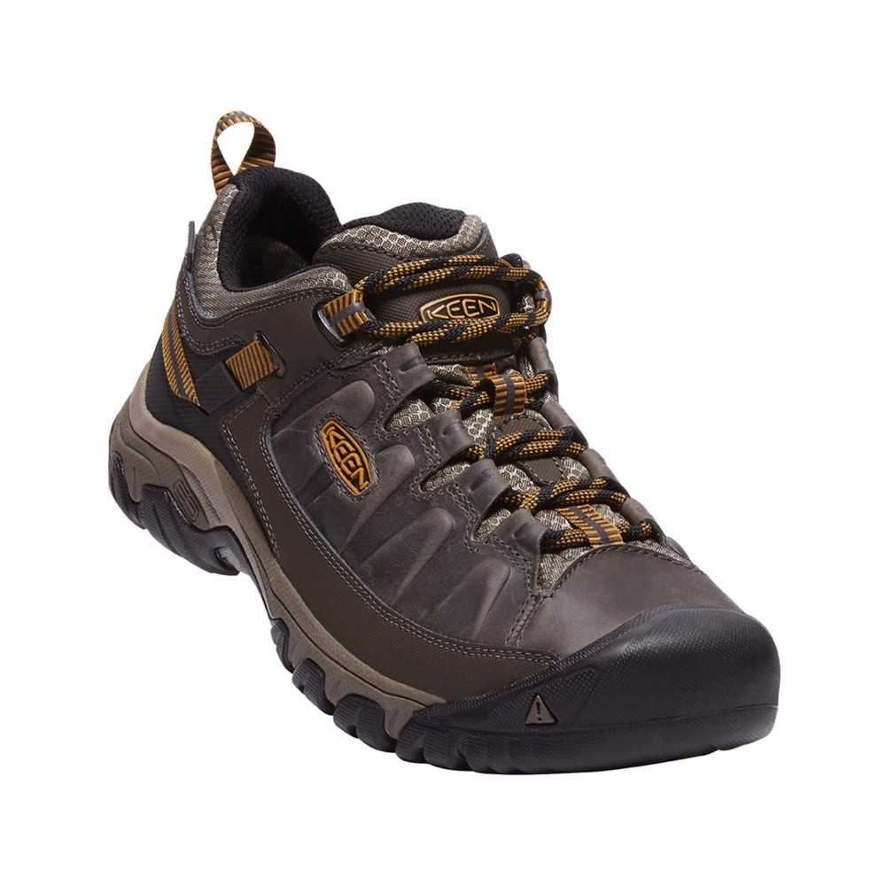 Keen Targhee III WP Mens Black Olive/Golden Brown