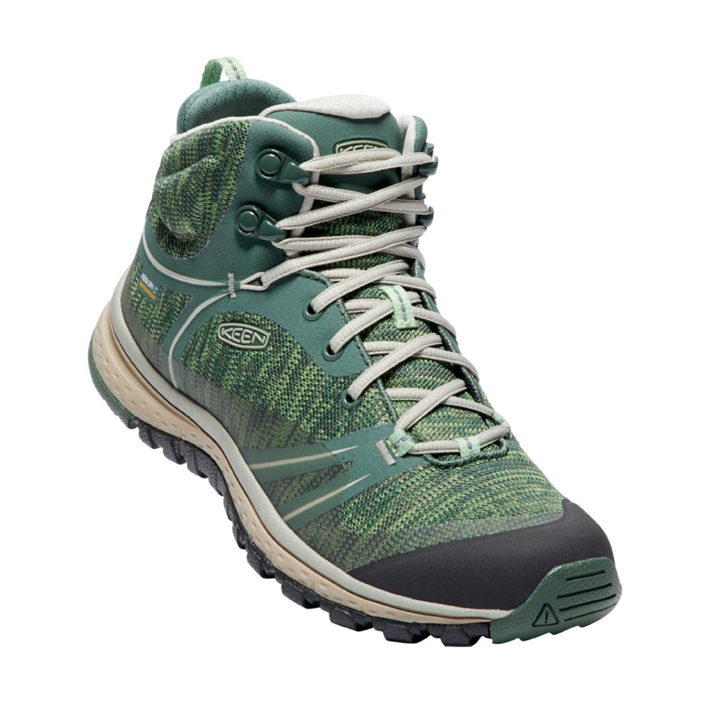 Keen Terradora Mid WP Womens Duck Green/Quiet Green