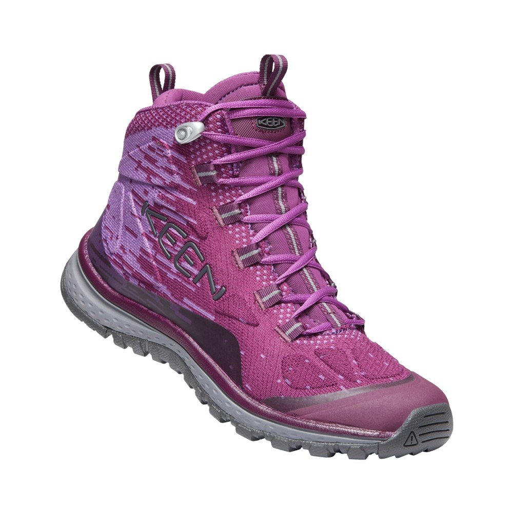 Keen Terradora Evo Mid Womens Grape Wine/Grape Kiss