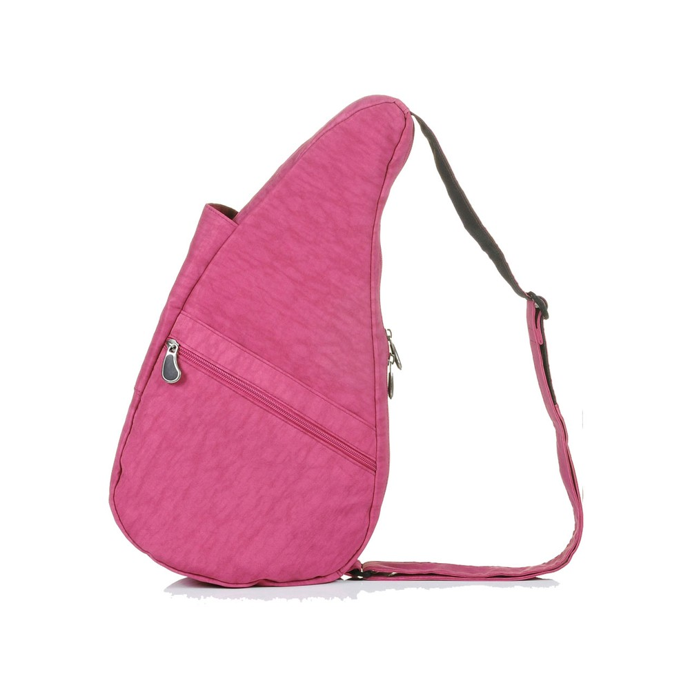 Healthy Back Bag Textured Nylon Small Rose Petal