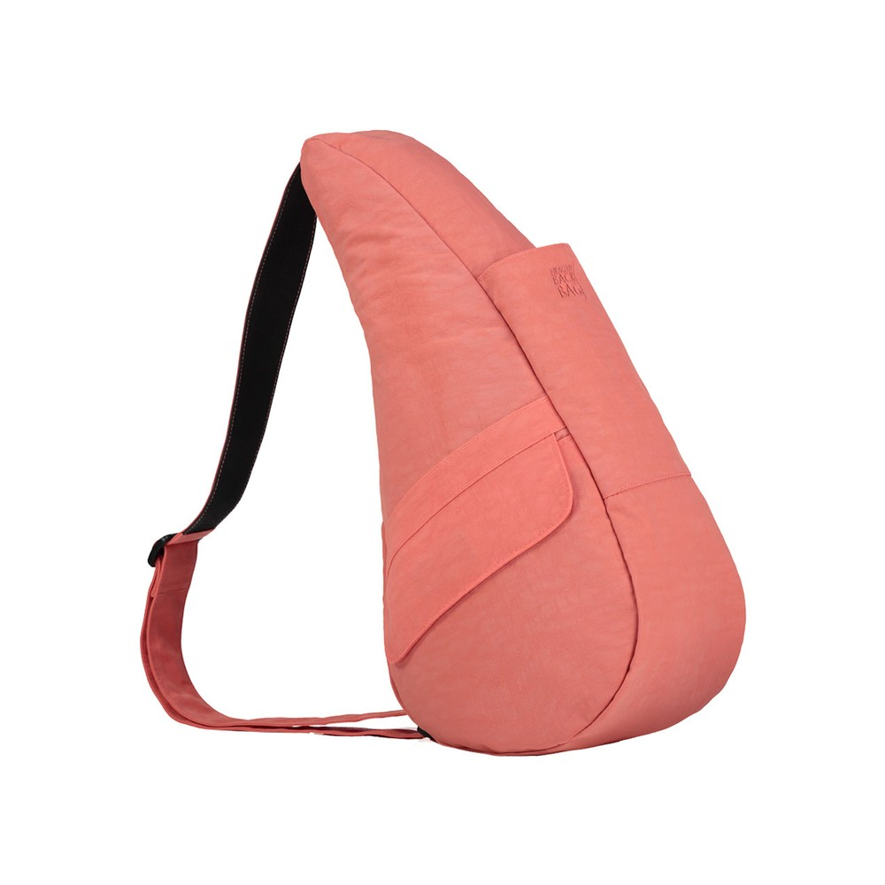Healthy Back Bag Textured Nylon Small Peachblossom
