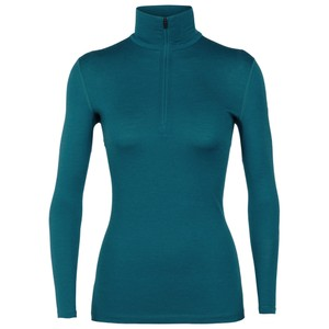 Icebreaker Oasis 200 LS Half Zip Womens in KINGFISHER