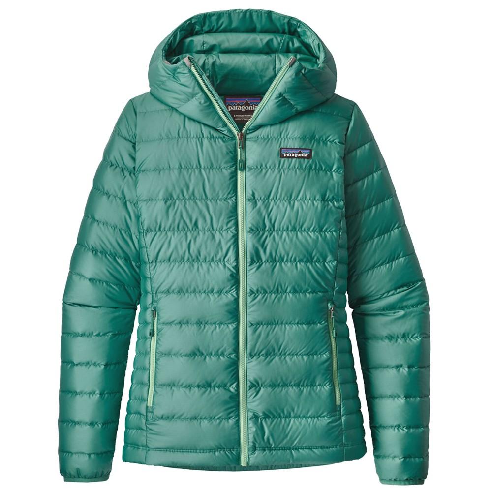 Patagonia Down Sweater Hoody Womens Beryl Green