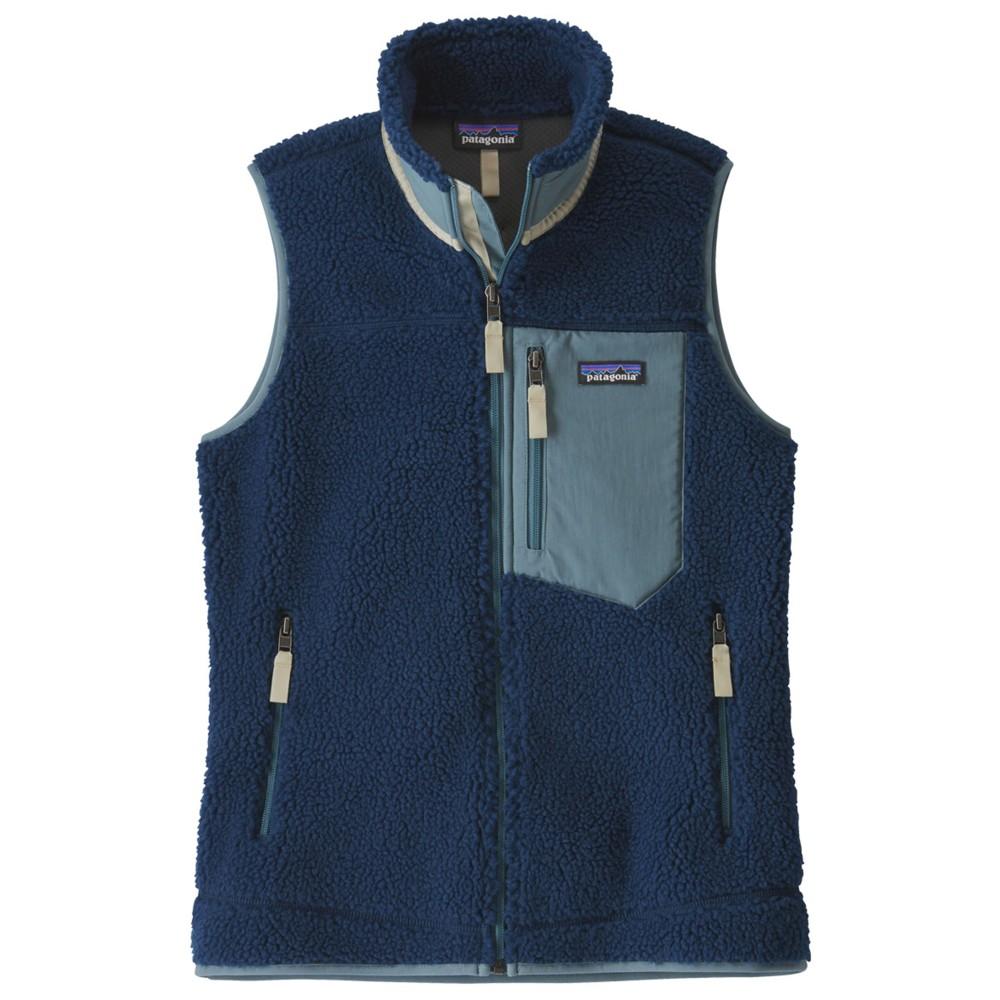 Patagonia Classic Retro-X Vest Womens STONE BLUE