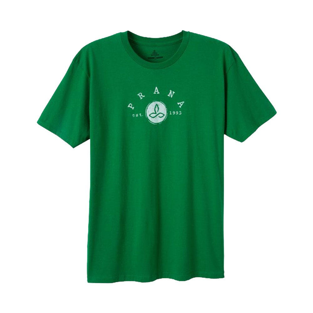 Prana Classic T Mens Kelly Green