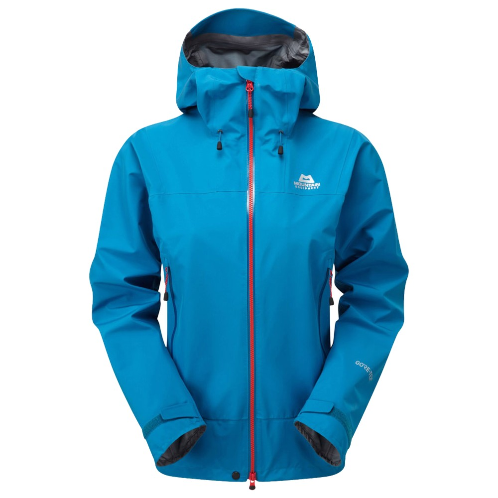 Mountain Equipment Quarrel Jacket Womens Lagoon Blue