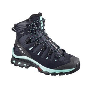 Salomon Quest 4D 3 GTX Womens in Graphite/Night Sky/Beach Glass