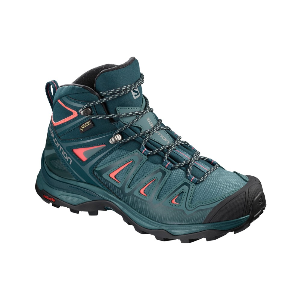 Salomon X Ultra 3 Mid GTX Womens HydroReflect
