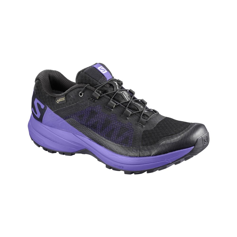 Salomon XA Elevate GTX Womens Black/Purple Opulence/Black
