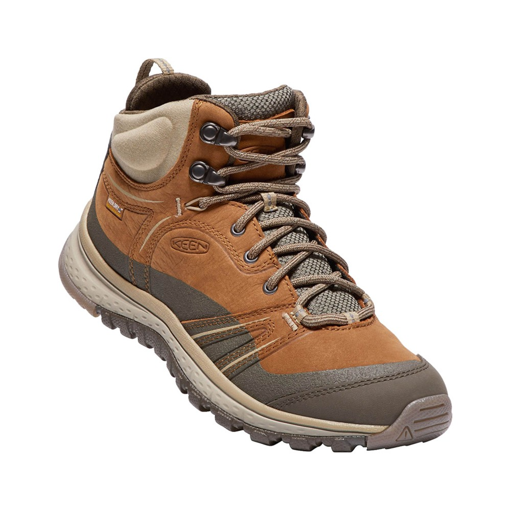 Keen Terradora Leather Mid WP Womens Timber/Cornstalk