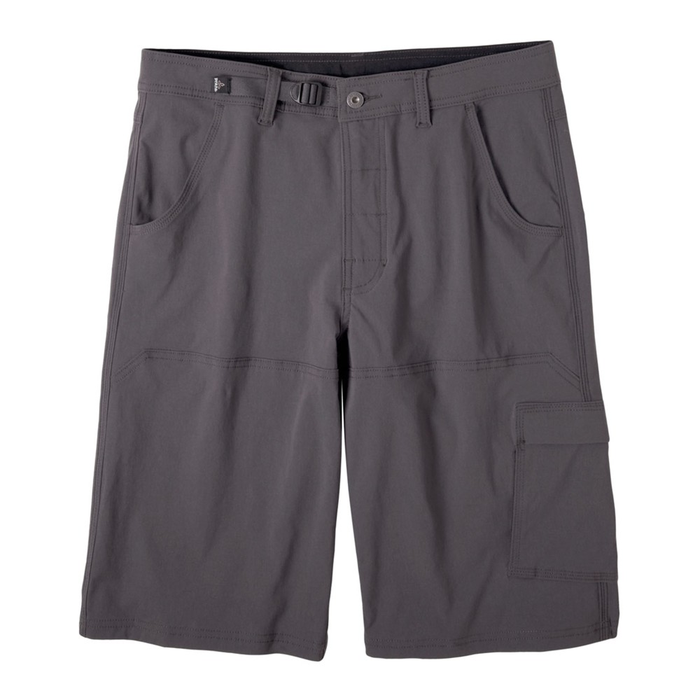 Prana Stretch Zion Short 10 in Mens Charcoal