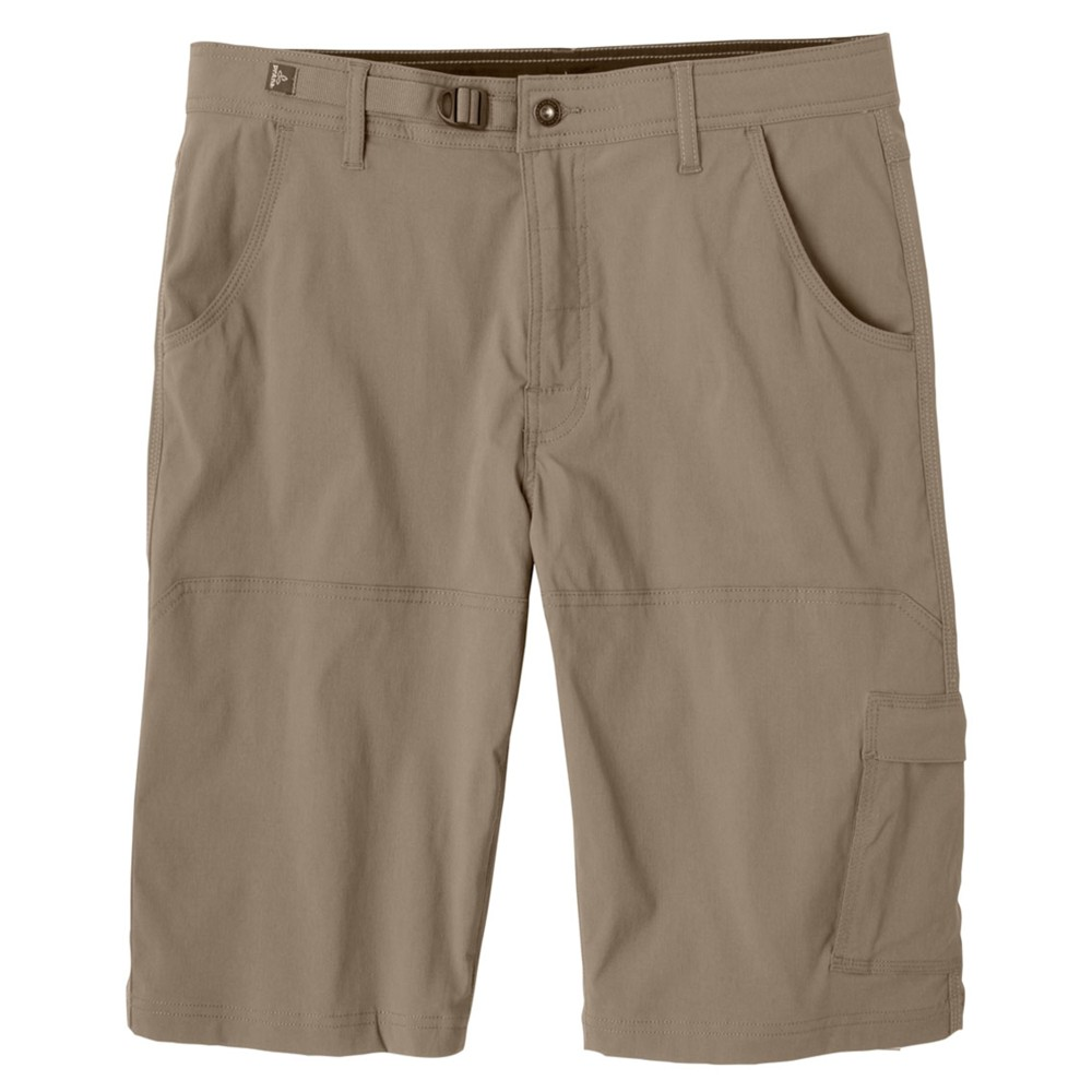 Prana Stretch Zion Short 10 in Mens Mud