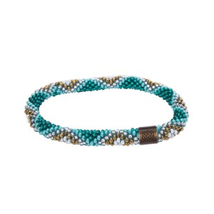 Sherpa Mayalu Multi Roll On Bracelet in Rathna green