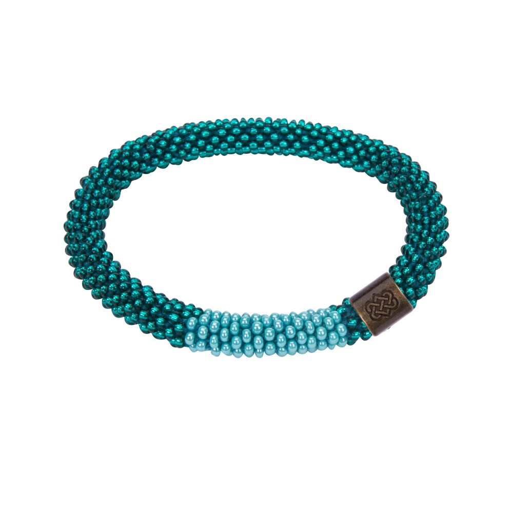 Sherpa Mayalu Block Roll On Bracelet Rathna green