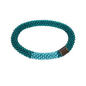 Sherpa Mayalu Block Roll On Bracelet in Rathna green