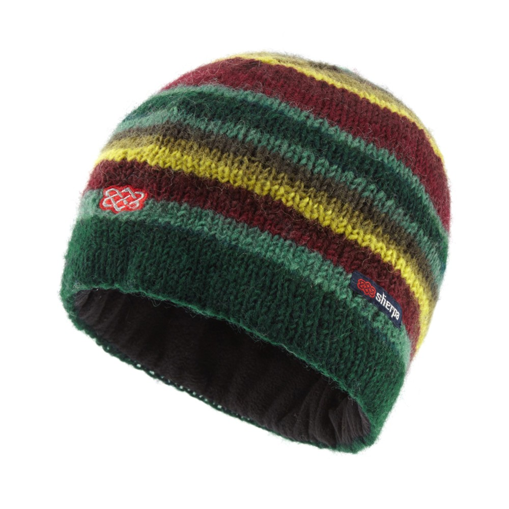 Sherpa Pangdey Hat Rathna green